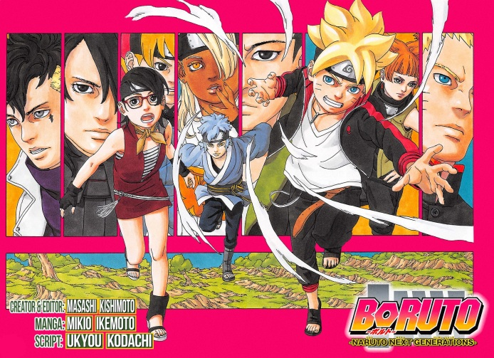 Boruto Next Generation poster