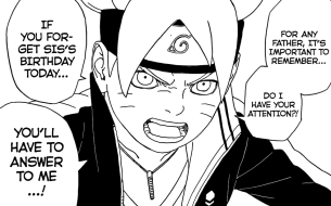Boruto wants attention