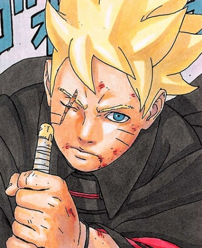 Boruto with eye crossed out