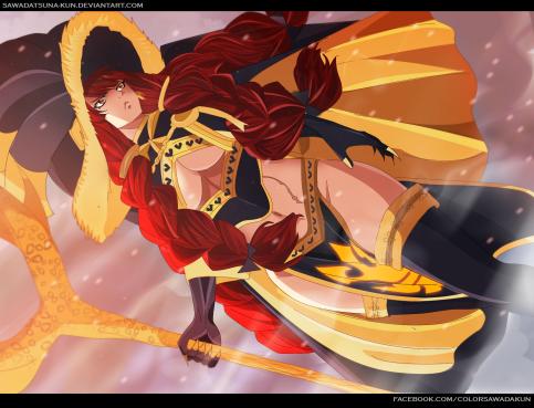 Eileen Fairy Tail 484 by sawadatsuna-kun