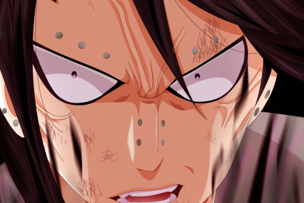 Gajeel vs Bradman! Sabertooth Attacks Back – Fairy Tail 485