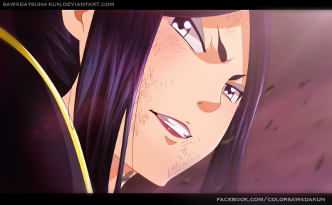Fairy Tail 485 Minerva by Sawadatsuna-kun