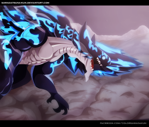 Fairy Tail 486 Acnologia by sawdatsuna