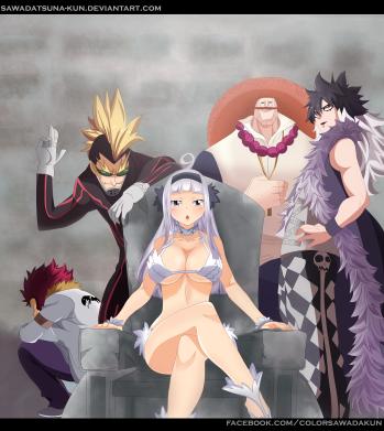 Fairy Tail 486 Oracion Seis by sawadatsuna