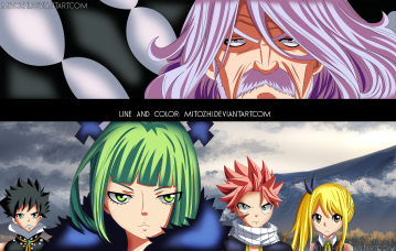 Fairy Tail 487 August meets Brandish by mitozhi