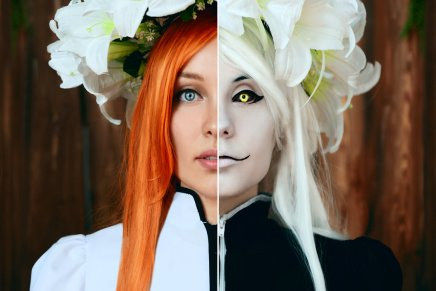 Cosplay: Inoue Orihime and Hollow Orihime