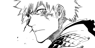 Ichigo gives Orihime look