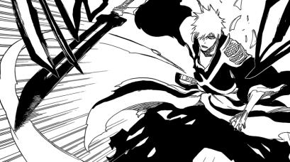 Ichigo releases Zanpakuto