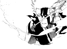 Ichigo's Quincy and Hollow Transformation
