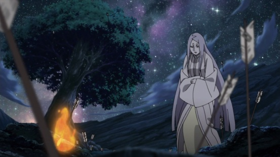 Kaguya at the tree