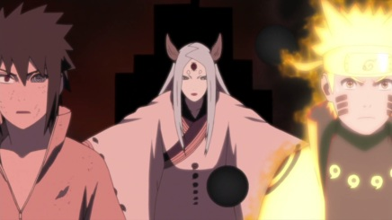 Naruto and Sasuke vs Kaguya! Another Dimension – Naruto Shippuden 459