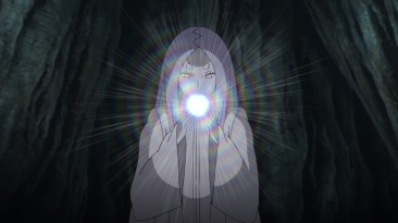 Kaguya eats Divine Tree Fruit