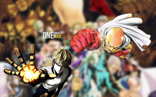 One Punch Man Wallpaper Genos Saitama by dommy