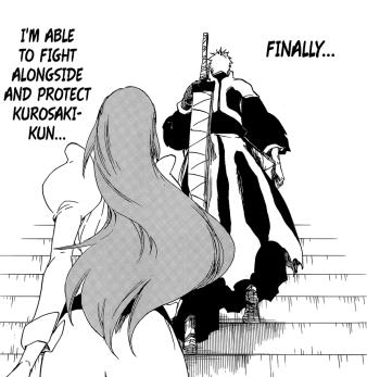 Orihime to fight alongside Ichigo