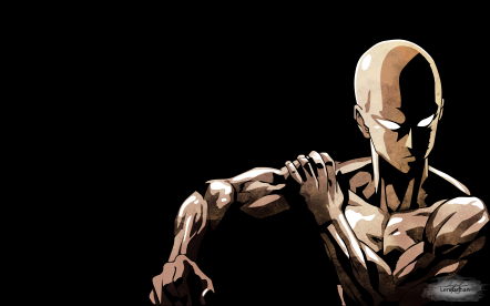 Saitama One Punch Man Wallpaper by lennachan
