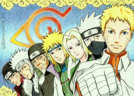 The Seven Generations of Hokage – Leaf Village