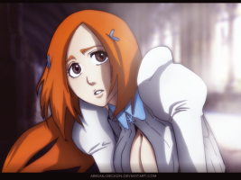 Bleach 677 Orihime by abigail-geckon