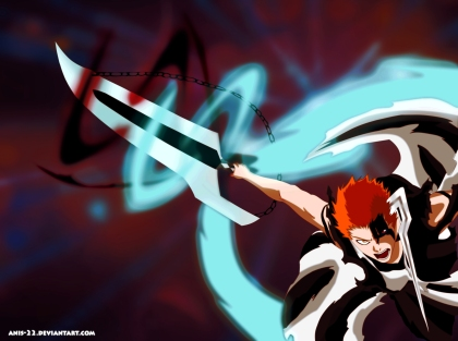 Bleach 678 Ichigo's Bankai by anis-22