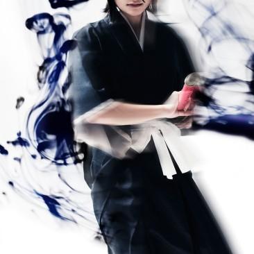 Chihiro Kai as Rukia Kuchiki