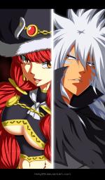 Fairy Tail 488 Acnologia vs Eileen by kiiky99