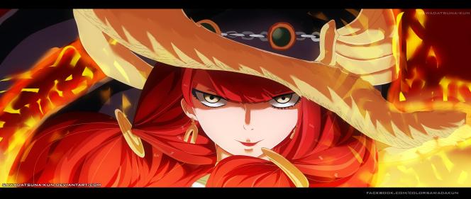 Fairy Tail 489 Eileen by sawadatsuna-kun