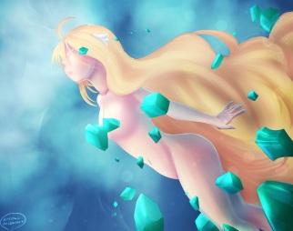Fairy Tail 489 Mavis by aneirah