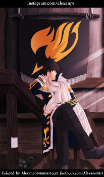 Fairy Tail 490 Zeref by alexanj