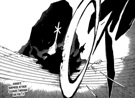 Ichigo's Gran Rey Cero on Yhwach