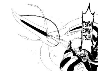 Ichigo's New Bankai Tensa Zangetsu