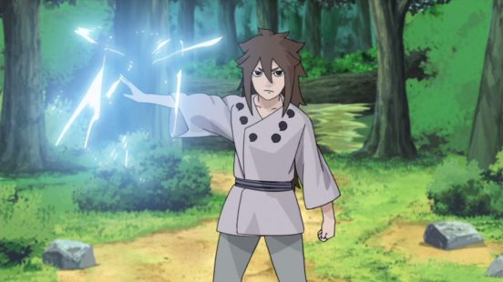 Indra uses Chidori
