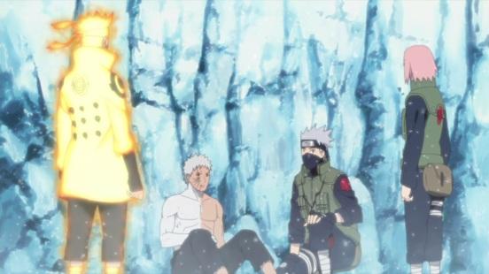 Naruto Sakura Kakashi Obito