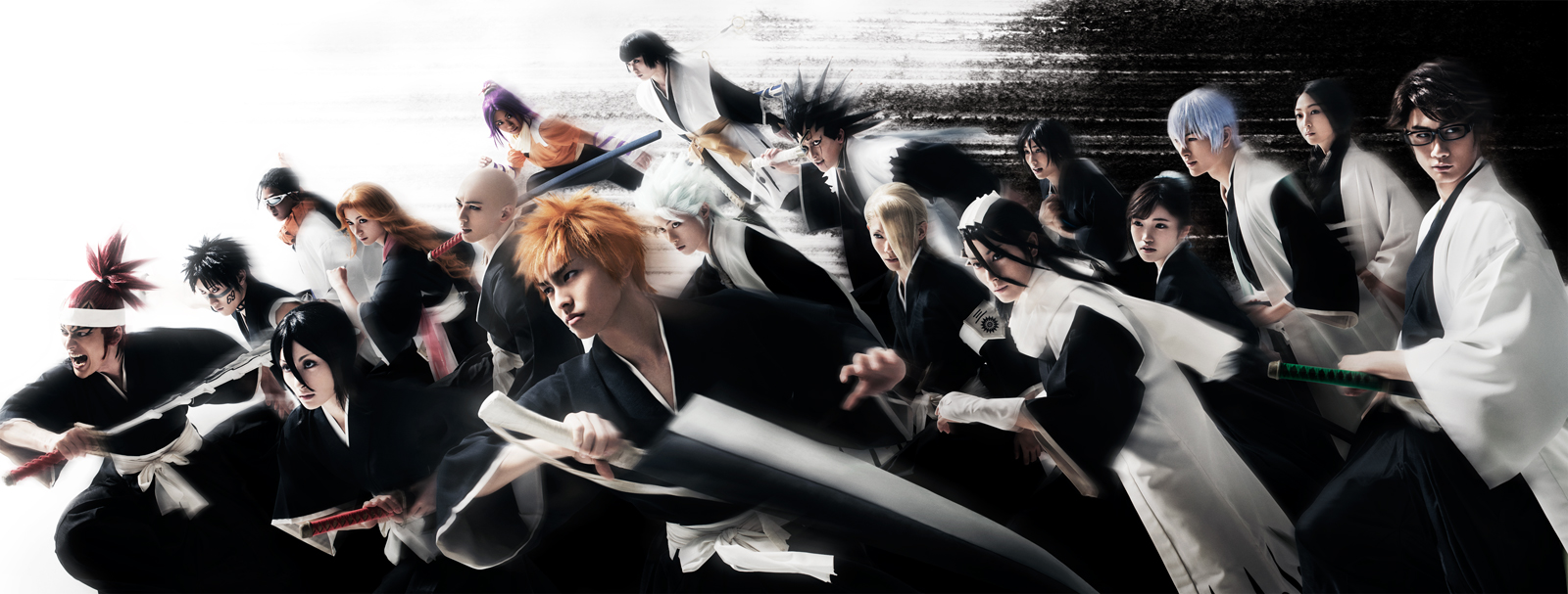 rock musical bleach reveal main visual and new cast