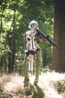 Sinon Cosplay SAO by Ainlina