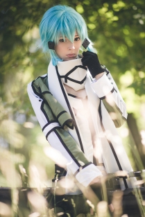 Sinon Gun Gale Online Cosplay by Ainlina