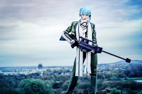 Sword Art Online Cosplay Sinon by Ainlina