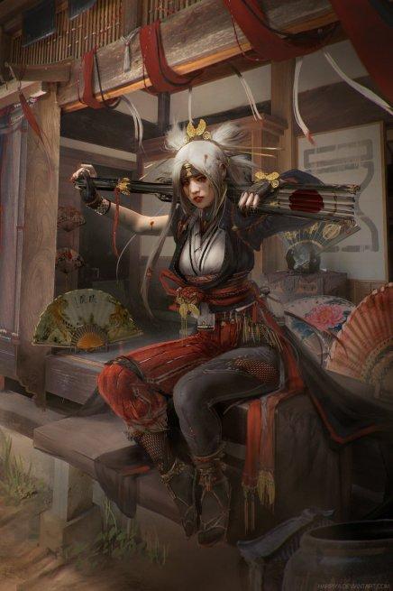 The Tempest Queen –Temari