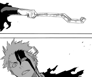 Yhwach breaks Ichigo's horn