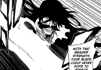 Yhwach defends against Ichigo