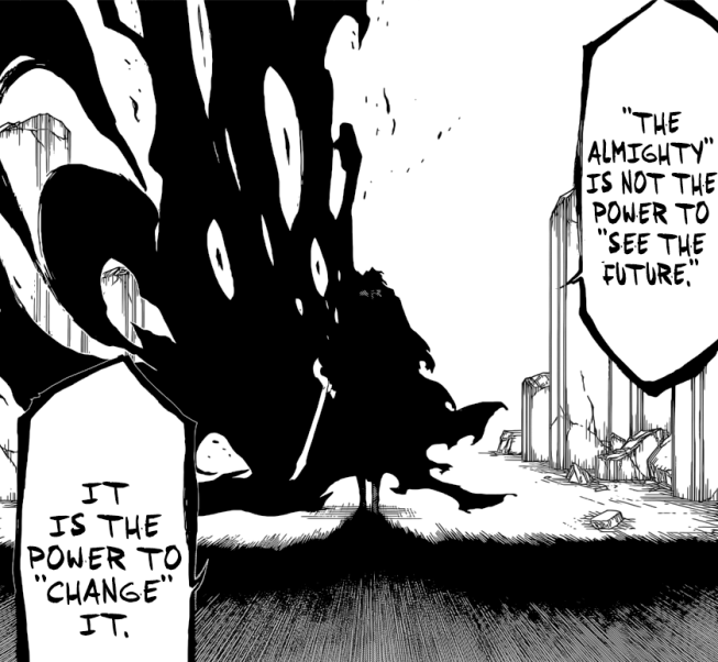 Yhwach's Almighty changes future