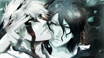 You Missed Me? – Hollow Ichigo and Zangetsu
