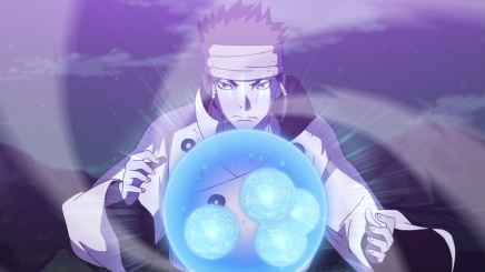 Ashura's Ninshu Successor! Indra's Response – Naruto Shippuden468