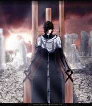Bleach 682 Aizen in chair by abigail-geckon