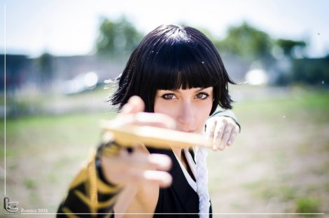 Cosplay Bleach Soi Fon by TammYTA