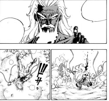 Fairy Tail 493 August defeats Mirajane