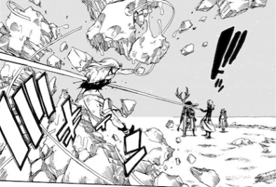 Fairy Tail 493 August strikes Mirajane