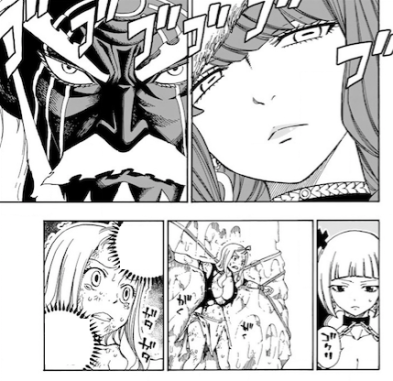 Fairy Tail 493 Eileen August meets Mirajane