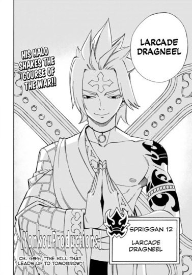 Fairy Tail 493 Larcade Dragneel