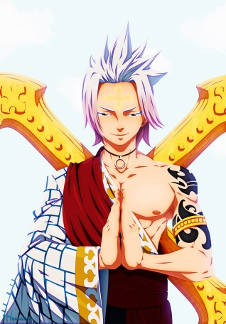 Fairy Tail 493 White Dragneel by hyugasosby