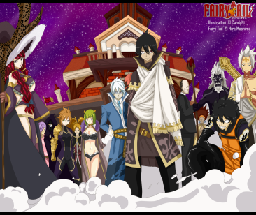 Fairy Tail 494 Spriggan 12 by candyni