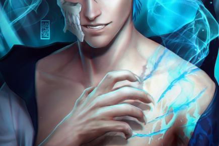 The Blue Panther – GrimmjowJaegerjaquez
